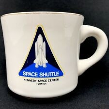 Vintage Space Shuttle Coffee Mug Cup Kennedy Space Center Florida