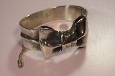 Retired James Avery Ribbon Bracelet 925 Sterling Silver