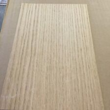 """Red Oak wood veneer 6"""" x 10"""" on paper backer """"A"""" grade quality 1/40th"""" thickness"""