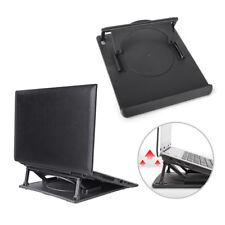 Laptop Holder Cooling 360° Rotation Stand Mount Notebook Table Desk Swivel CRIT