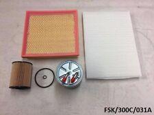 Filters Service KIT Chrysler 300C 3.0CRD 2011-2012  FSK/300C/031A