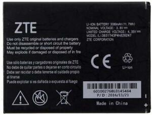 NEW OEM Original ZTE Battery Li3831T43P4H826247 for Z959 Grand X 3 N9519 Warp 7