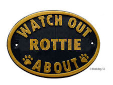 Rottweiler Signs & Plaques