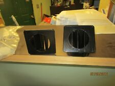 67-72 Chevy GMC Truck black  Inside Dash Defroster Duct Vents Right Left Set New