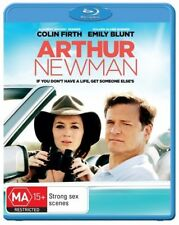 *Brand New & Sealed* Arthur Newman (Blu-ray Movie 2014) Colin Firth, Emily Blunt