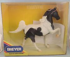 Breyer 827 Black Pinto 5 Gaiter Saddlebred Model Horse - NIB