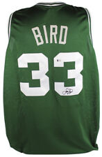 Celtics Larry Bird Authentic Signed Green Jersey Autographed BAS