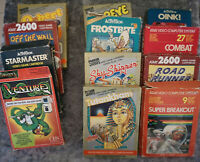 Atari 2600 VCS Games - Various Titles - Check back often for more additions