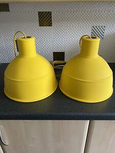 2 X Muuto Unfold Pendant Lamp(s) Yellow