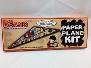 THE BEANO VINTAGE COLLECTION PAPER PLANE KIT TO MAKE 60 PLANES FROM BEANO COVERS
