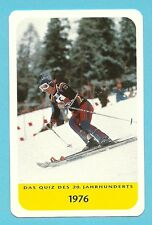 Rosi Mittermaier Olympics Skiing Cool Collector Card Europe Look!