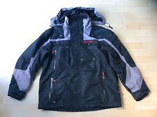 Spyder Men's Black & Grey Motorbike Jacket / Coat, Size: 42