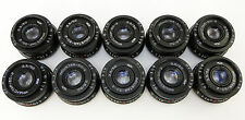CLA'd LOT 10 x INDUSTAR 50-2 3.5/50 Russian Soviet USSR Pancake Lenses M42 Mount