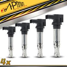 4x Ignition Coils for Audi A1 A3 Volkswagen Polo 4 Jetta Golf MK5 1.4L 1.6L