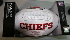 KANSAS CITY CHIEFS-AUTOGRAPHED FOOTBALL-WILL SHIELDS #68