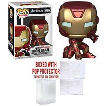 Iron Man 626 Gamer Verse Funko Pop Games Avengers Collectibles w/ Case
