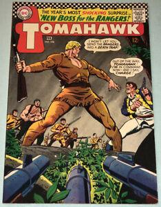 Tomahawk #108 Very Fine- 1967 DC Comic Book Silver Age Western