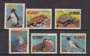 Ecuador  2207 - 12  Vögel - Birds  **  (mnh)