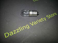 10x' E10 12V 0,17 a 170mA 2W chiara miniatura TUBO MES lotto OdL LAMPADA LAMPADINA # 27