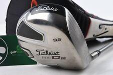 TITLEIST 909 D2 DRIVER / 9.5° / STIFF FLEX PROLAUNCH SHAFT / TID909219