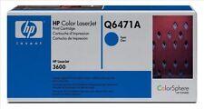 Cartouches de toner cyan HP pour imprimante