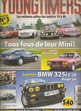 YOUNGTIMERS 3 ALPINE V6 TURBO LANCIA BETA COUPE BMW 325i E30 MINI 1959 2000