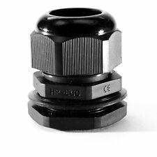 Kabelverschraubung mit Gegenmutter Pg16 Kunststoff schwarz