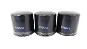 Qty 3 Emgo Oil Filters 10-55660 fits Suzuki 92-up GSXR 600 90-05 GSX 600F Katana