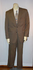 """CHAPS DARK TAN SUIT 40R PANTS 33""""/30"""" GOOD PRE-ENJOYED CONDITION AWESOME DEAL!"""