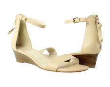 NIB Cole Haan Adderly Wedge Two-Piece Sandals size 7 Nude $160
