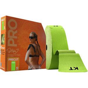 "KT Tape Pro Jumbo 10"" Precut Kinesiology Therapeutic Sports Roll - 150 Strips"