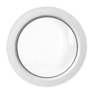 Round circular window FIXED white 500 550 600 650 700 750 800 900 mm uPVC