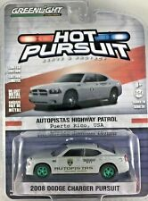Greenlight CHASE Green Machine 42850-D 2008 Dodge Charger Pursuit Puerto Rico