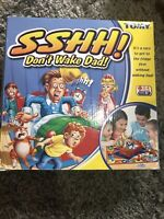 Sshh! Don't Wake Dad! Electronic Board Game TOMY Complete X1