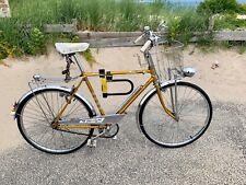1964 - Vintage AMF Hercules Bike 3-Speed  Nottingham England All Original -Gold