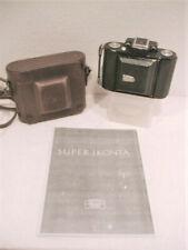 Zeiss Super Ikonta A 530 w/7cm f/3.5 Jena Tessar, O/M & Case; Near Mint & CLA!