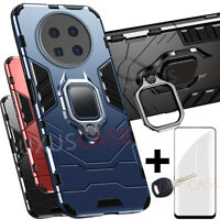 Huawei Mate 40 PRO | PLUS 360°Ring Stoßfest Schutz Handy Hülle Cover Case + Glas