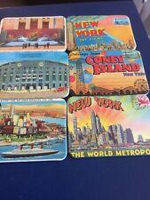 6 Set Di Nuovo Lavoro Lotto collezione di magneti frigo Retrò New York Collection