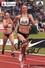 Laura Müller, Autogramm - Leichtathletik - NEU