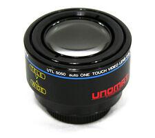 UTL5050 37/27 mm Vorsatzobjektiv Doppelt Converter Tele 1,5xWide Weitwinkel 0,7x