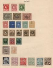 SOUTH AMERICA: Reprint Selection - Ex-Old Time Collection - Album Page (32496)