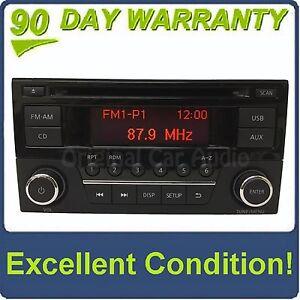 2014 - 2017 Nissan Sentra Versa OEM Single CD AM FM USB Radio 28185 9MC1A