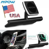 US Mpow Universal Magnetic Car CD Slot Mount Holder Stand For iPhone 7 8 X GPS