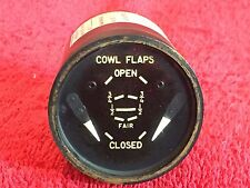 "GENERAL ELECTRIC 2"" DUAL COWL FLAPS POSITION INDICATOR P/N 8DJ50-CAC"