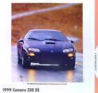 1999 Chevrolet Camaro Z28 WU8 SS LS1 346 ci info/specs/photo/prices 11x8