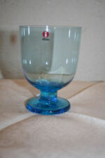 Cristalería de color principal azul de vidrio para cocina, comedor y bar