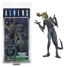 "Aliens Blue Xenomorph Warrior Battle Damaged Series 12 9"" Figure NECA IN STOCK!"
