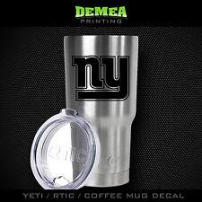 New York Giants - NY -Yeti/Rtic/Yeti Rambler/Tumbler/Coffee Mug-DECAL