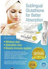 Glutathione & Vit C Rapid Absorption WHITELIGHT AIM GLOBAL Skin Whitening Halal