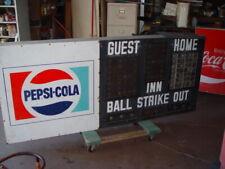 Large Pepsi Baseball Softball Scoreboard Aluminum